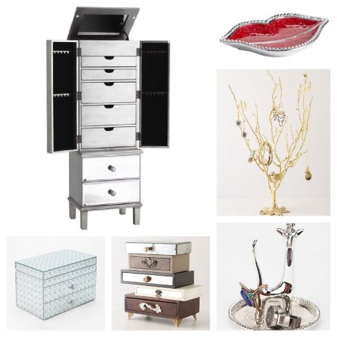Jewelry Storage, jewelry boxes, jewelry tree