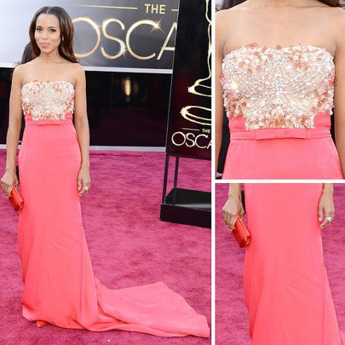 Kerry Washington Miu Miu Oscars Dress