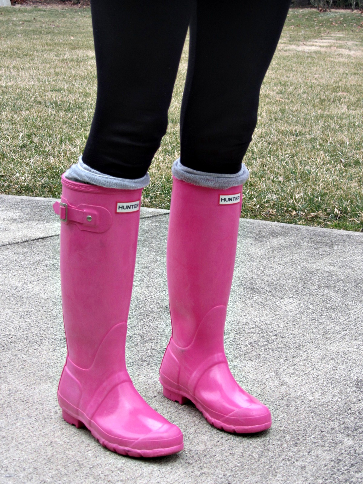 Pink Rain Boots - Cr Boot