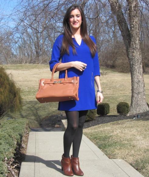 H&M Cobalt Blue Dress