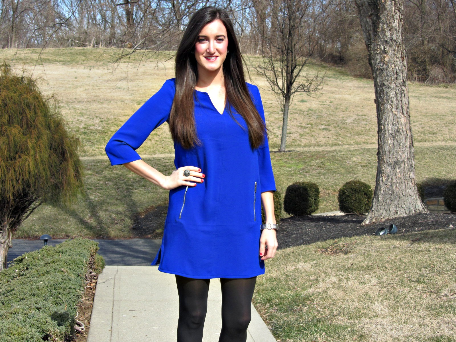 Cobalt Blue Dress Shoes