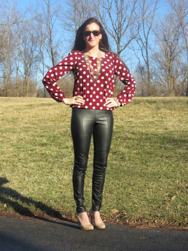 Leather & Polka Dots 2