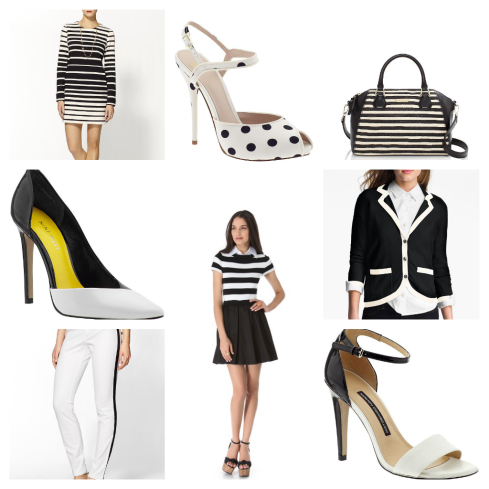 Spring Trend Black and White