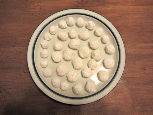 White Chocolate Lemon Truffles 1