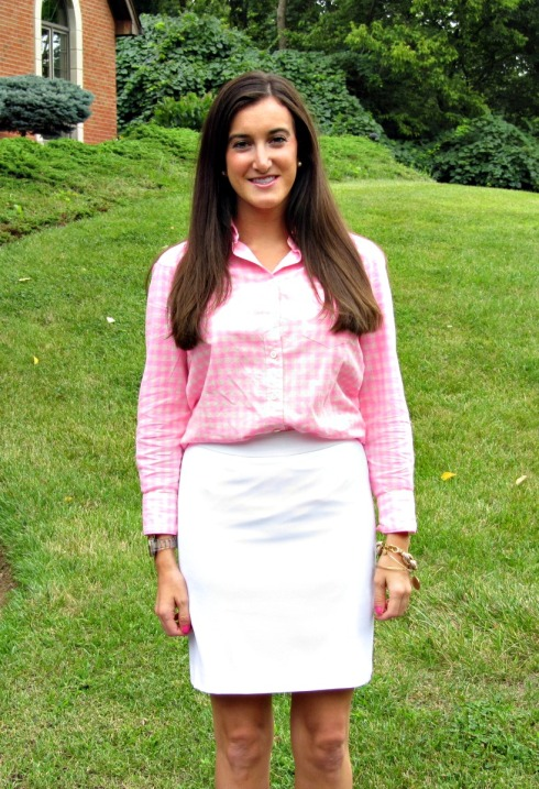 Preppy Pink Outfit