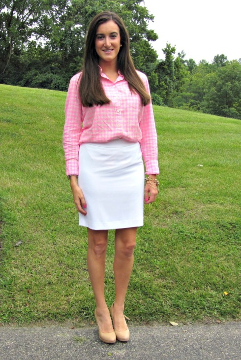 Pink Gingham Outfit