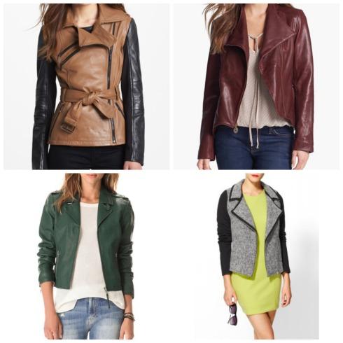 Fall Trend Moto Jackets