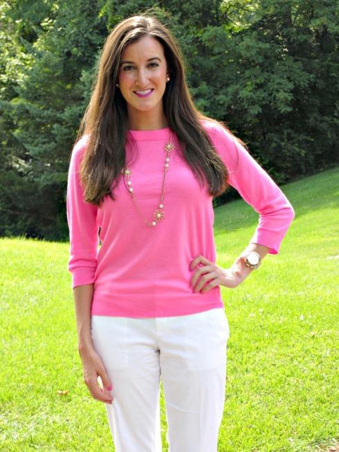 J.Crew Pink Sweater