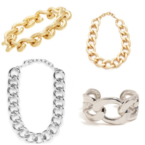 Bauble Wish List Chain Link Jewelry