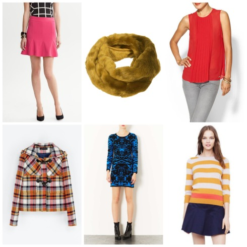 Colorful Fall Clothes