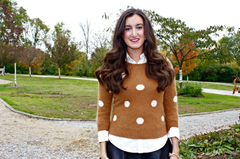 Polka Dot Madewell Sweater