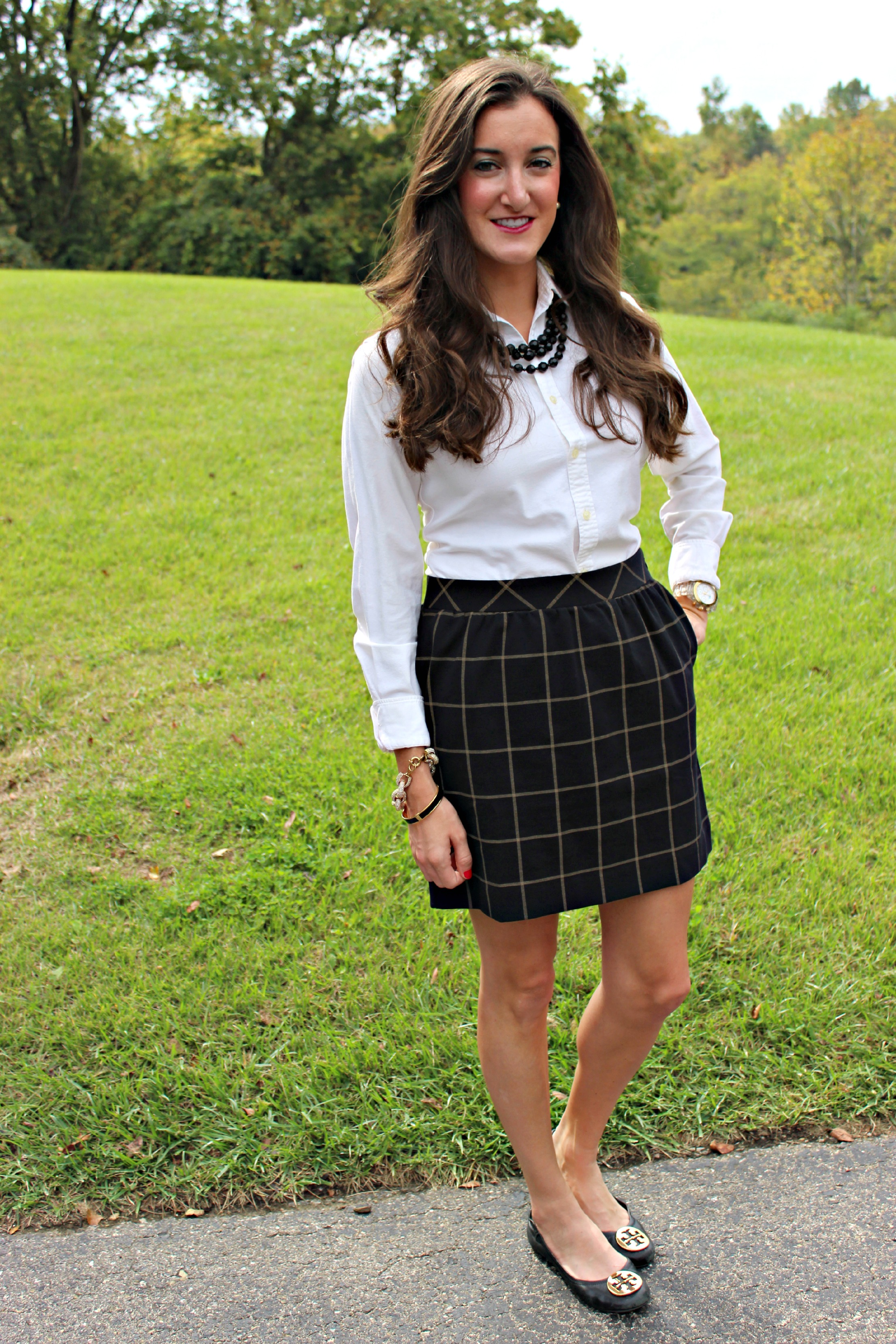 Classy School Girl Outfit
