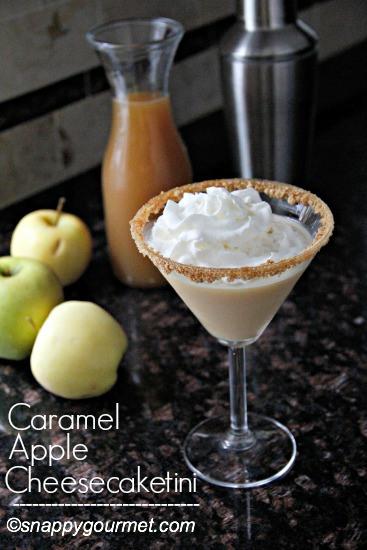 Caramel Apple Cheesecaketini