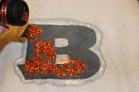 DIY Bengals Glitter Shirt