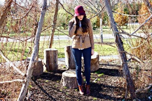 Nordstrom Winter Hat Beige Forever 21 Jacket