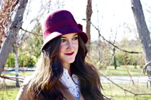 Red Cloche Nordstrom Hat