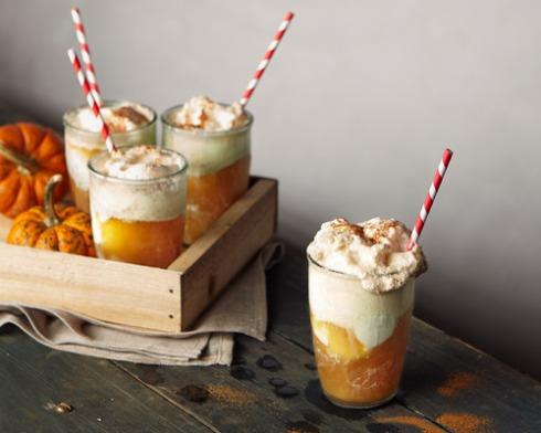 Fall Inspired Pumpkin Drink