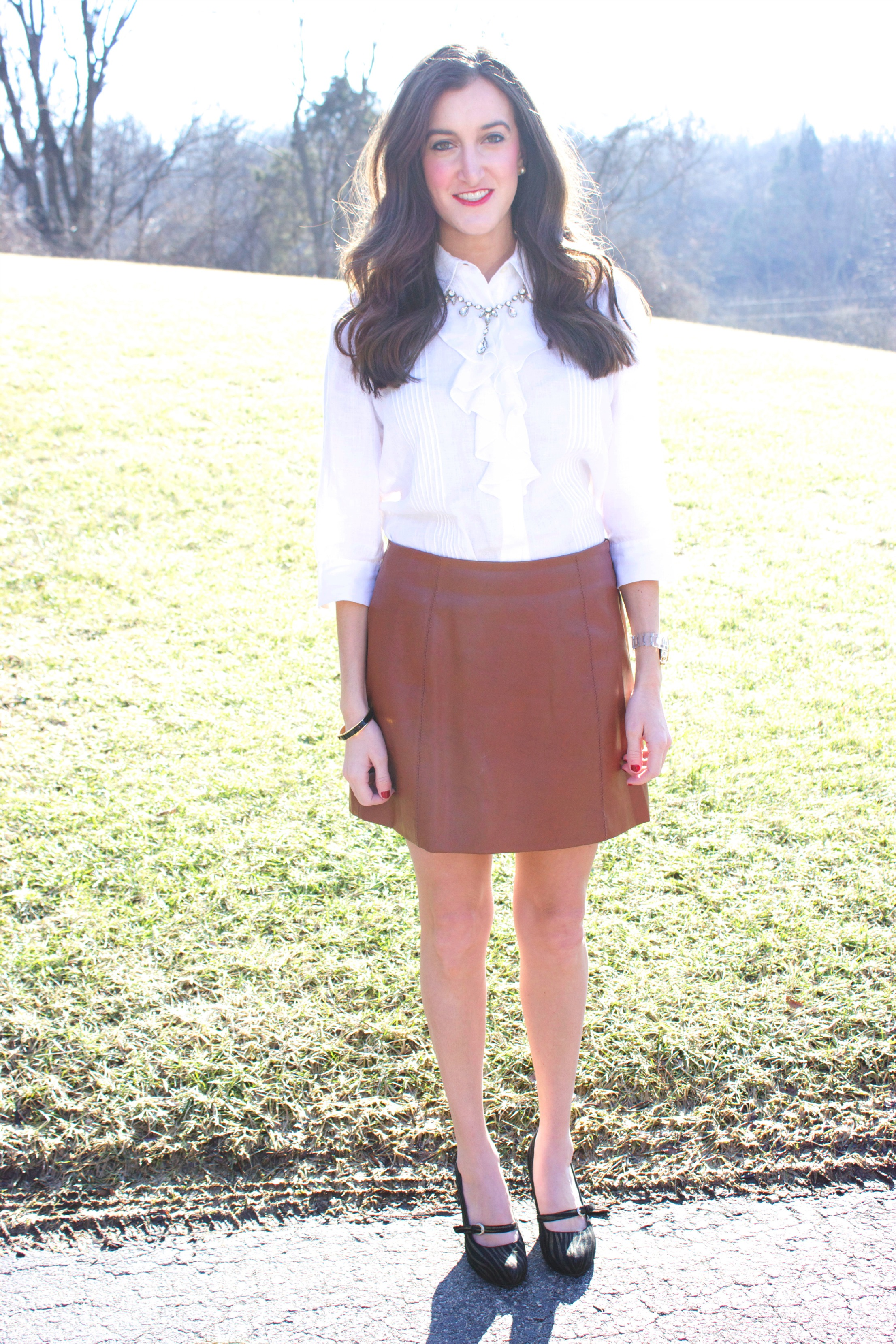 Brown skirt what to wear with – Modern skirts blog for you