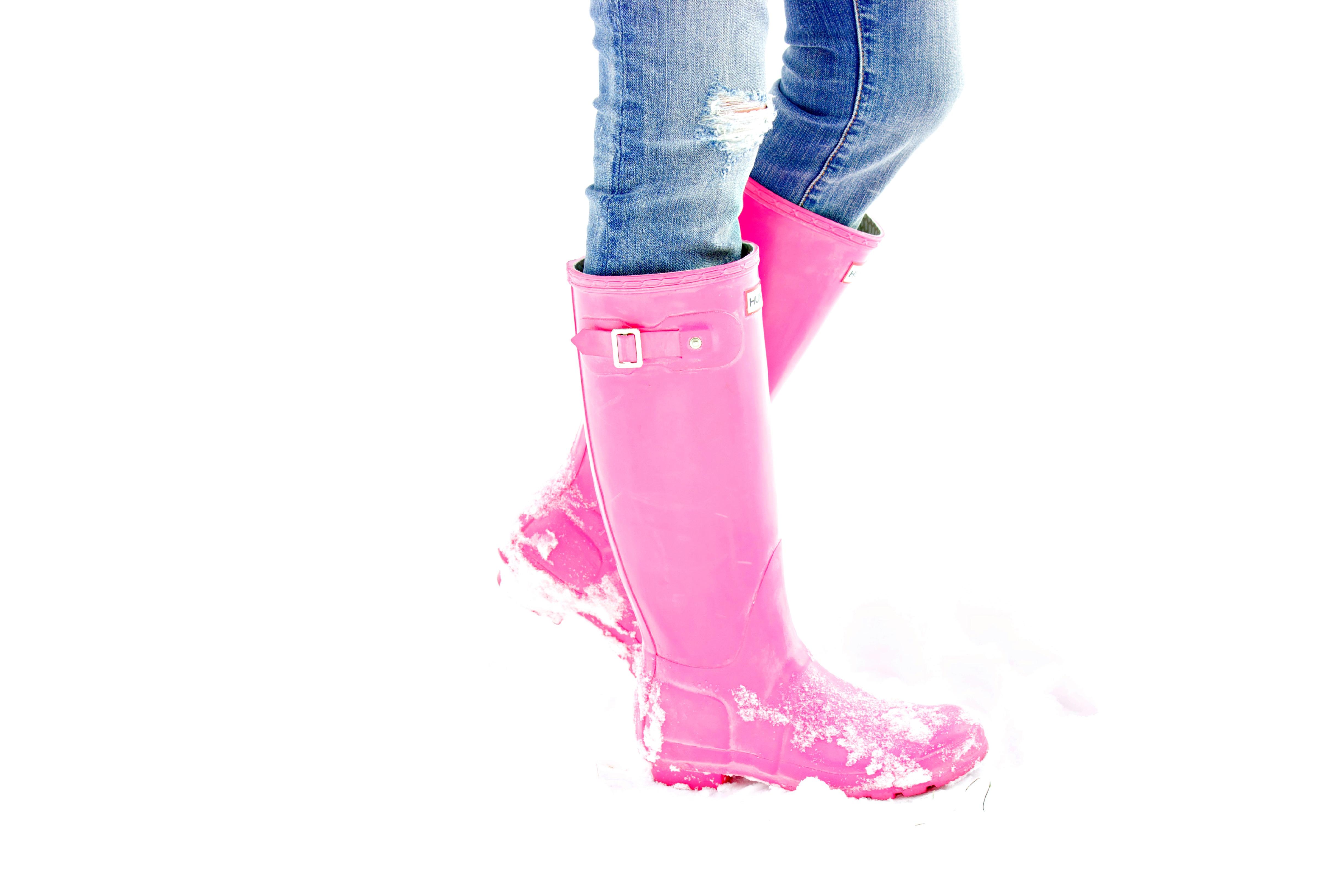 pink hunter rain boots wwwimgkidcom the image kid
