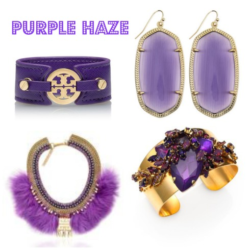 Radiant Orchid Purple Jewelry