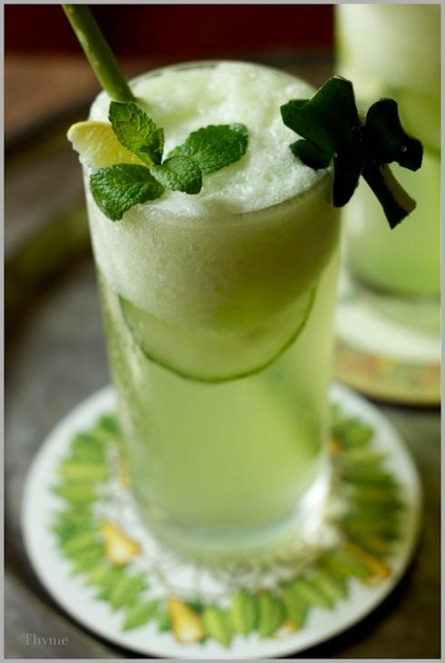 St. Patrick's Day Mint Mojito