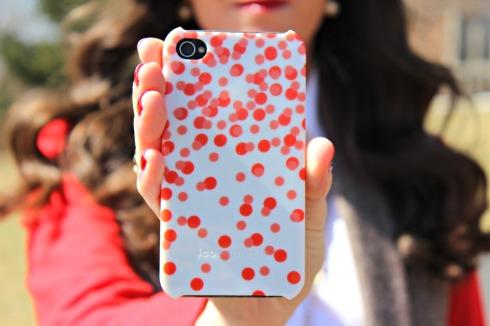 Iconemesis Polka Dot iPhone Case