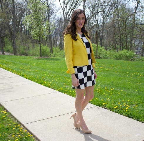 How To Add Color To Black and White Outfit