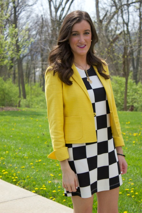 How To Wear a Yellow Blazer