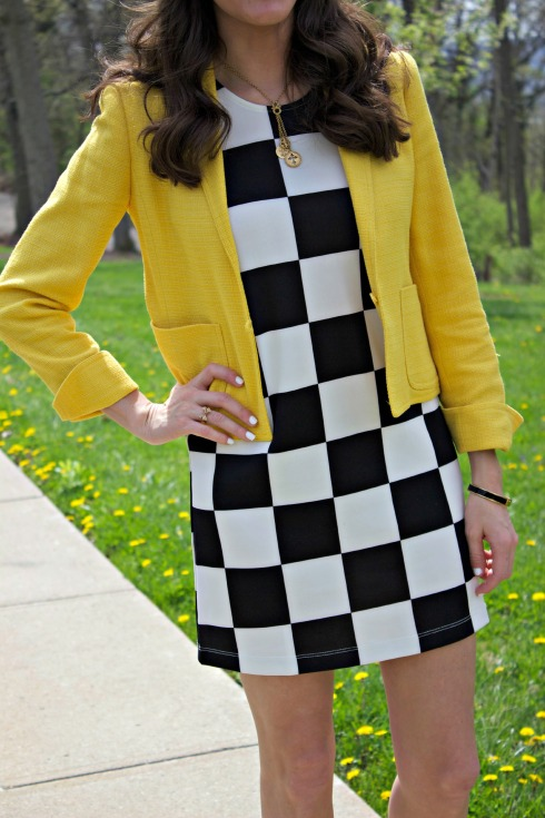 How to Style a Yellow Blazer