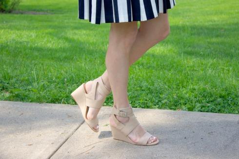 BCBGeneration Mandee Wedge Sandals