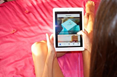 Orange Harp App iPad