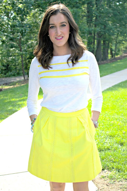 Yellow Summer Work Outfit