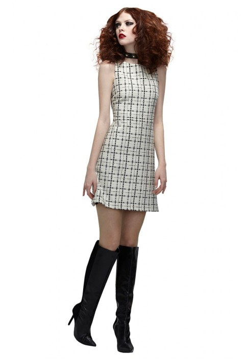 Alice Olivia Kipp Sleeveless A Line Dress