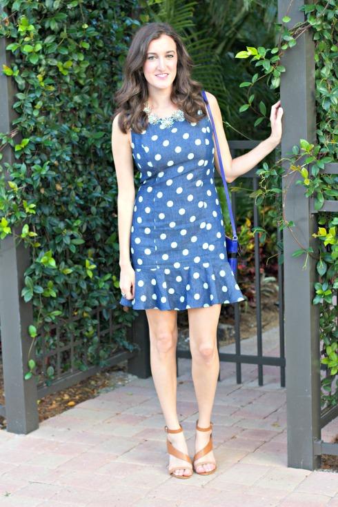 Urban Outfitters Polkadot Dress