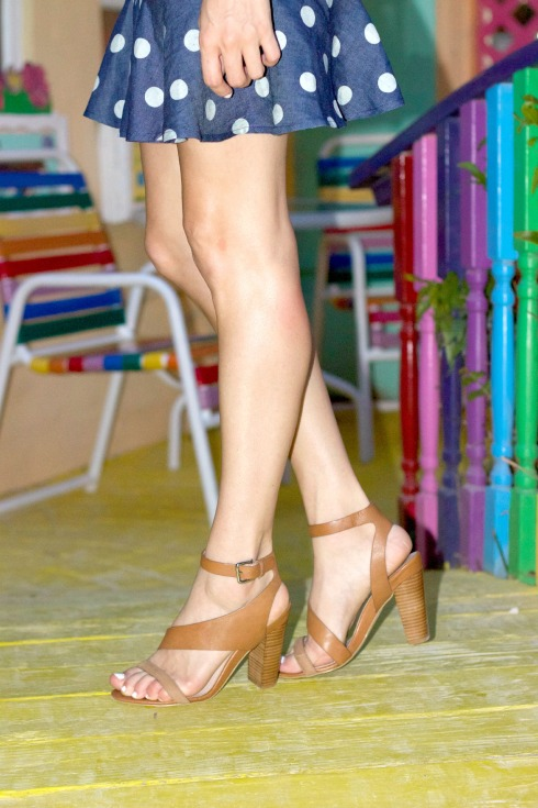 French Connection Kalypso Brown Sandals