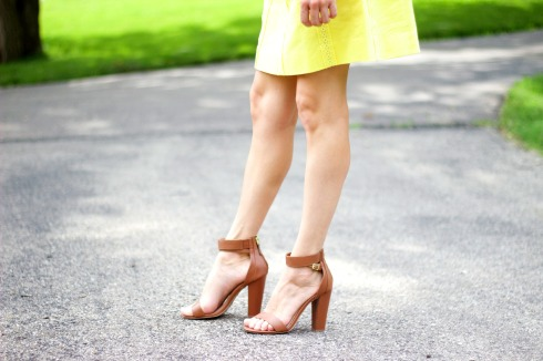 Lulus Bamboo Brown Ankle Strap Sandals