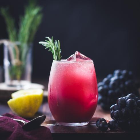 Grape Rosemary Gin Crush
