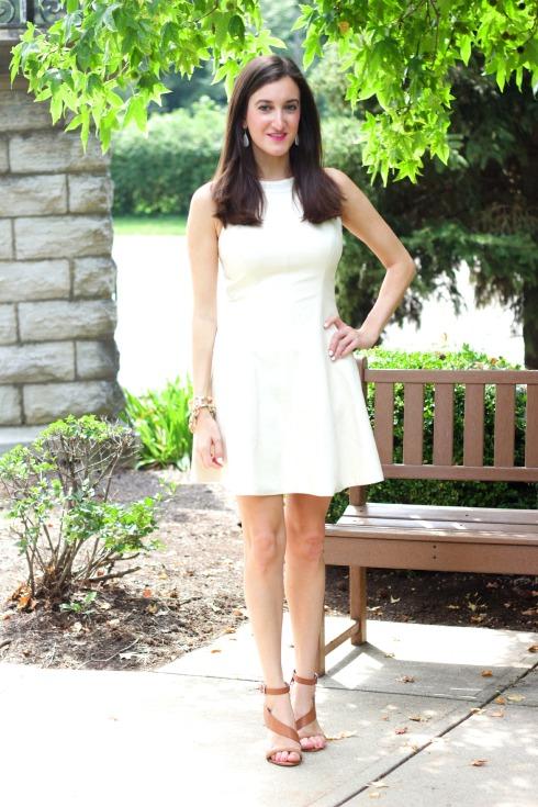 Rachel Rachel Roy Perforated Leather Dress