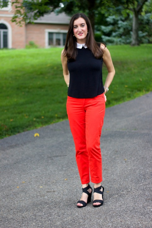 Red White and Black Outfit Ideas