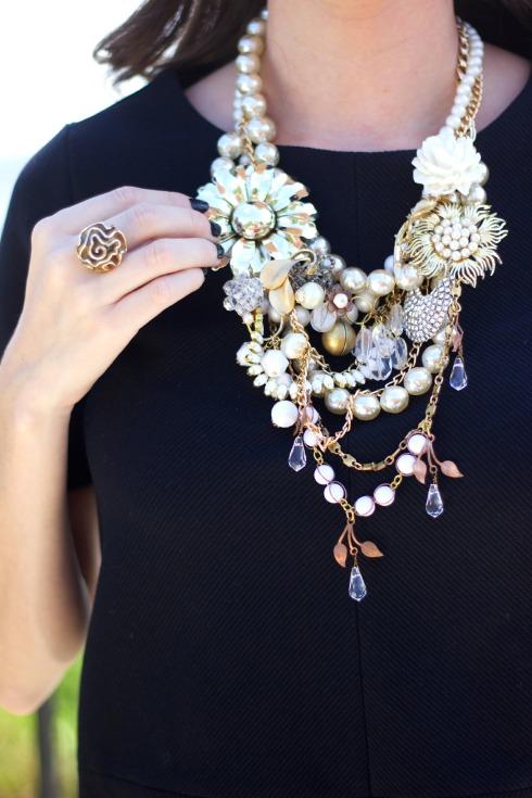 Tara Lea Smith Jewelry Statement Necklace