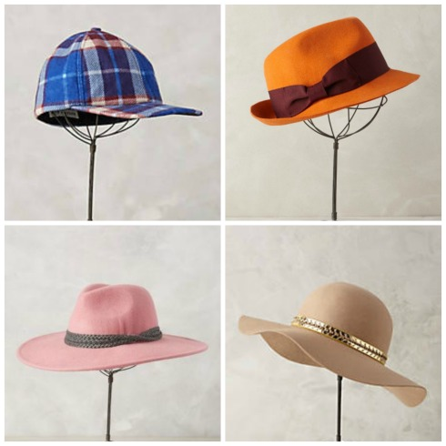 Anthropologie Fall Winter Hats