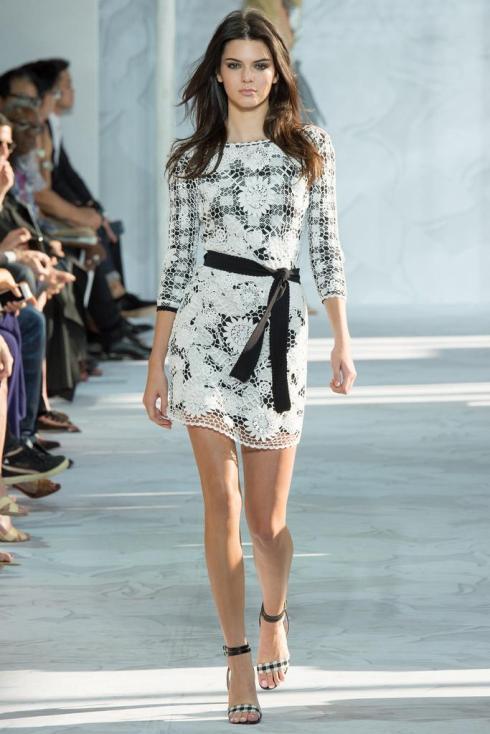 Diane von Furstenburg Kendall Jenner Dress