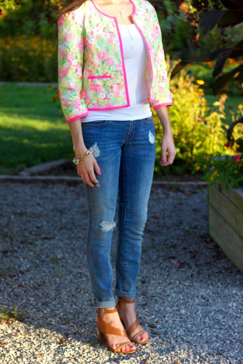 Gap Distressed Skinny Jeans