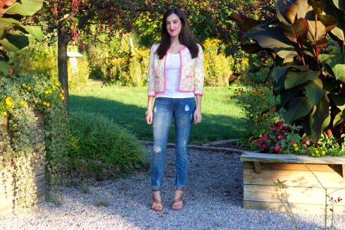 Lilly Pulitzer Floral Jacket
