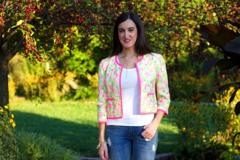Lilly Pulitzer Flower Jacket
