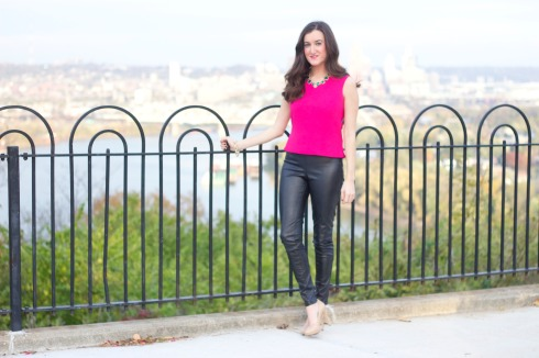Leather Pants in Warm Weather
