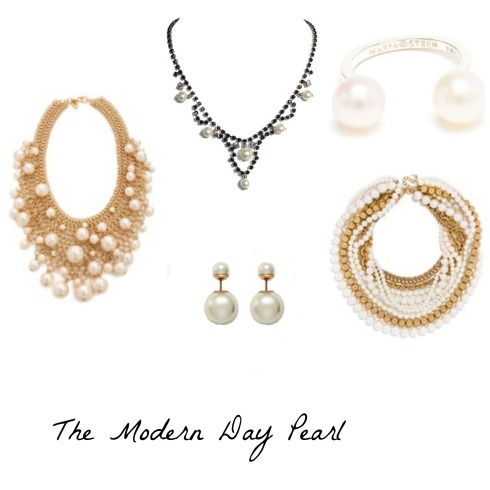 Modern Day Pearl Jewelry Trend