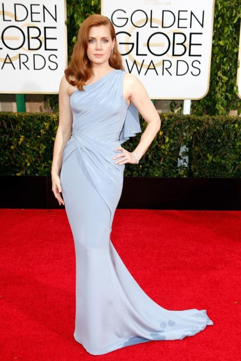Amy Adams 2015 Golden Globes