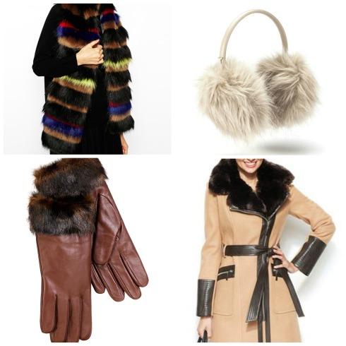 Faux Fur Winter Accessories
