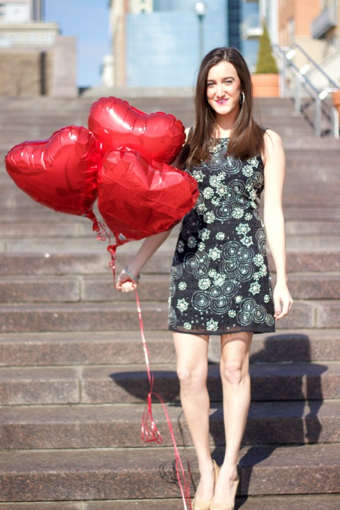 Valentine's Day Cocktail Dress